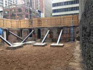 Foundation Bracing Midtown Manhattan, NY